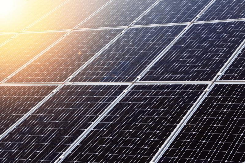 solar panel radiation